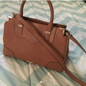 Hardly used Rebecca minkoff brown bag !